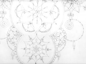 blyant tegning