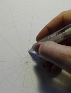 tegne med blyan